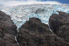 Glaciar de Flatbreen Imagen de archivo libre de regalías