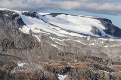 Glaciar de Flydalsbreen Imagen de archivo
