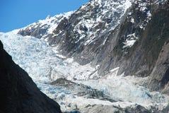 Glaciar de Francisco José Imágenes de archivo libres de regalías