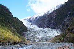 Glaciar de Francisco José Foto de archivo libre de regalías