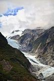 Glaciar de Francisco José, Nueva Zelandia Foto de archivo libre de regalías
