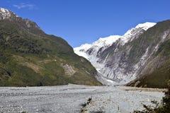 Glaciar de Franz Josef Fotos de archivo libres de regalías