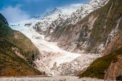 Glaciar de Franz Joseph fotografía de archivo libre de regalías