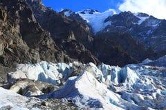 Glaciar de fusión Fotos de archivo