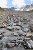 Glaciar de fusión Imagenes de archivo