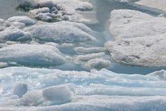 Glaciar de fusión Imagen de archivo
