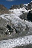 Glaciar de fusión Foto de archivo