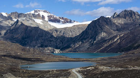Glaciar de Hailuogou Fotos de archivo libres de regalías