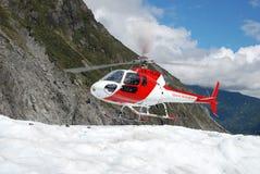 Glaciar de Heli Hiking Fox Foto de archivo libre de regalías