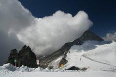 Glaciar de Hintertux foto de archivo libre de regalías