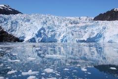 Glaciar de Holgate Fotos de archivo libres de regalías