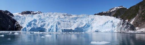 Glaciar de Holgate panorámico Imagen de archivo