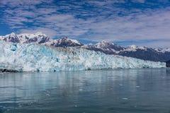 Glaciar de Hubbard e hielo flotante Foto de archivo libre de regalías