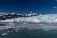 Glaciar de Hubbard e hielo flotante Imagenes de archivo