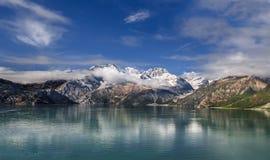Glaciar de Johns Hopkins en Alaska fotografía de archivo