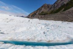 Glaciar de Kennicott Fotos de archivo
