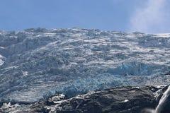 Glaciar de Kjenndalsbreen Imagenes de archivo