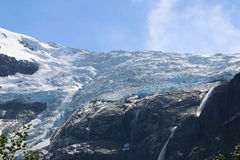 Glaciar de Kjenndalsbreen Fotografía de archivo libre de regalías