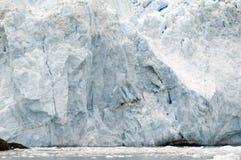 Glaciar de la marea en Alaska foto de archivo libre de regalías