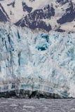 Glaciar de la parida Foto de archivo libre de regalías