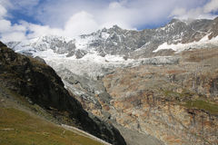 Glaciar de la tarifa Fotos de archivo libres de regalías