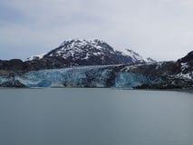 Glaciar de Lampaugh en Alaska imagenes de archivo