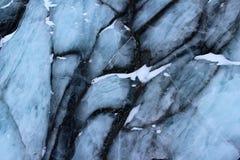 Glaciar de mármol, Svalbard Foto de archivo