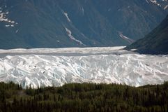 Glaciar de Matanuska fotografía de archivo libre de regalías