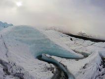 Glaciar de Matanuska imágenes de archivo libres de regalías