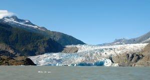 Glaciar de Mendenhall del lago, Alaska fotografía de archivo