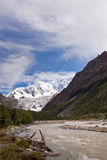 Glaciar de Midui Fotos de archivo