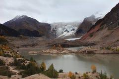 Glaciar de Midui Imagen de archivo