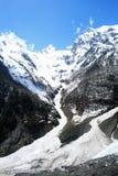 Glaciar de Mingyong Fotografía de archivo libre de regalías