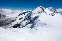 Glaciar de Monte Rosa Imagen de archivo libre de regalías
