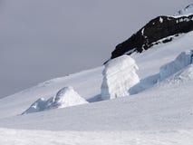 Glaciar de Olav´s del Príncipe heredero el enero Mayen Fotos de archivo libres de regalías