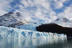 Glaciar de Onelli fotografía de archivo