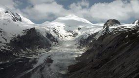 Glaciar de Pasterze almacen de metraje de vídeo