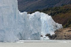 Glaciar de Perito Moreno foto de archivo