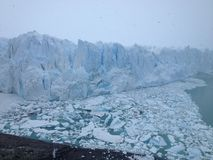 Glaciar de Perito Moreno, EL Calafate, la Argentina fotos de archivo libres de regalías