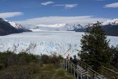 Glaciar de Perito Moreno, EL Calafate, la Argentina Fotografía de archivo libre de regalías