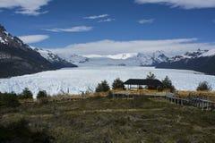 Glaciar de Perito Moreno, EL Calafate, la Argentina Foto de archivo libre de regalías