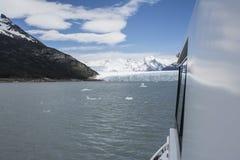Glaciar de Perito Moreno, EL Calafate, la Argentina Fotos de archivo