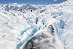 Glaciar de Perito Moreno, EL Calafate, la Argentina Foto de archivo