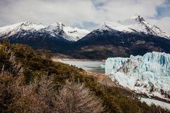 Glaciar de Perito Moreno, EL Calafate la Argentina, Patagonia del La foto de archivo libre de regalías