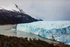 Glaciar de Perito Moreno, EL Calafate la Argentina, Patagonia del La imágenes de archivo libres de regalías