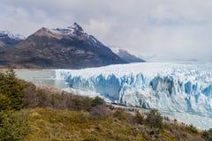Glaciar de Perito Moreno en el parque nacional Glaciares, Argenti foto de archivo