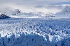 Glaciar de Perito Moreno en la Argentina fotos de archivo