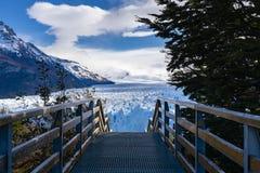Glaciar de Perito Moreno en la Argentina imágenes de archivo libres de regalías