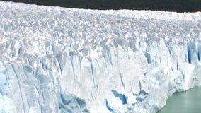 Glaciar de Perito Moreno en la Argentina almacen de metraje de vídeo