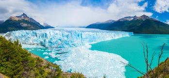 Glaciar de Perito Moreno en la Argentina imagen de archivo